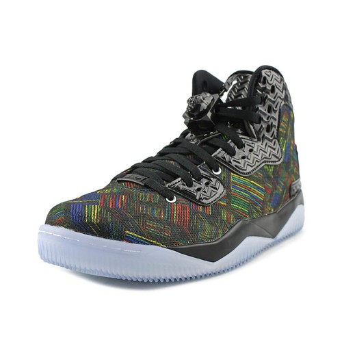 Jordan Air Jordan Spike Forty BHM Men Round Toe Synthetic Black Sneakers