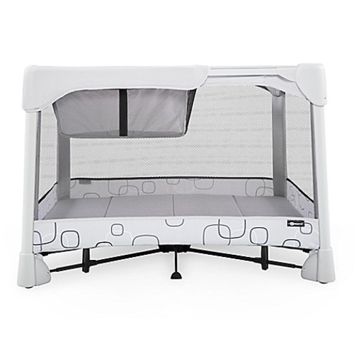 4moms Breeze Classic Playard in Light Grey