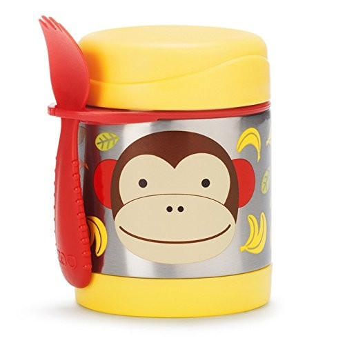 SKIP*HOP Zoo 11 oz. Insulated Food Jar in Monkey