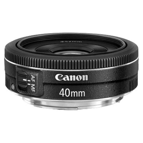 Canon EF 40mm f/2.8 STM Lens - Fixed [Lens Only]
