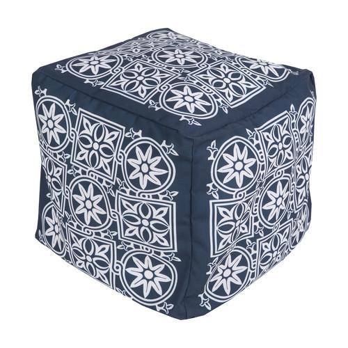 Rain Cube Pouf 2