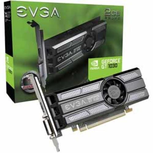 EVGA GeForce GT 1030 2GB 64-Bit GDDR5 Low Profile Graphics Card
