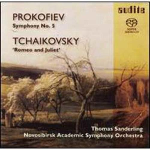 Prokofiev: Symphony No. 5; Tchaikovsky: Romeo & Juliet By Thomas Sanderling (Super Audio CD (SACD))