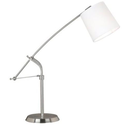 Kenroy Home Reeler Table Lamp in Brushed Steel