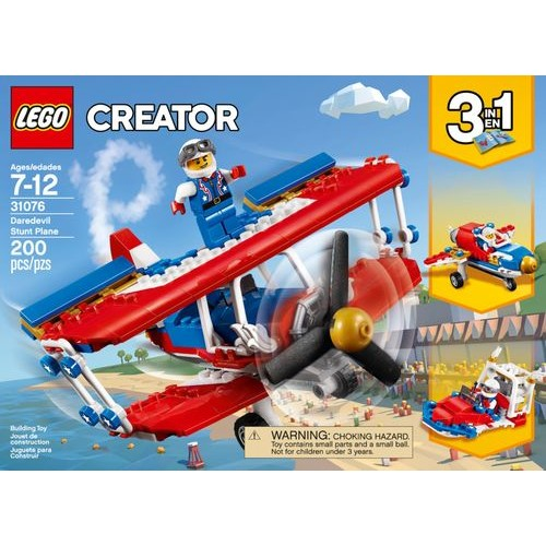 LEGO - Creator 3-in-1 Daredevil Stunt Plane