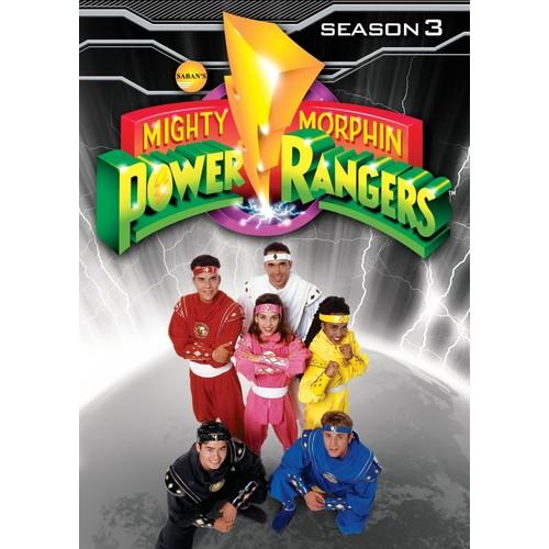Mighty Morphin Power Rangers: Season 3 [4 Discs] [DVD]
