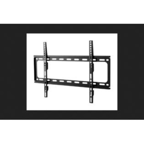 Monster Mounts 42 in. 75 in. 75 lb. Super Thin Fixed TV Wall Mount