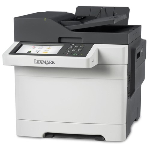 Lexmark CX510DHE Laser Multifunction Printer - Color - Plain Paper Print - Desktop - Copier/Fax/Printer/Scanner - 32 ppm Mono/32 ppm Color Print - 1200 x 1200 dpi Print - 32 cpm Mono/32 cpm Color Copy - 7