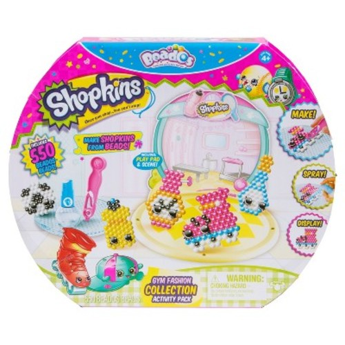 Beados Shopkins Activity Pack - Sports & Gym Collection