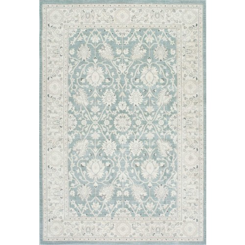 Wharton Rug in Blue design by Nuloom - 5'3 x 7'7