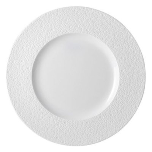 Ecume White Service Plate