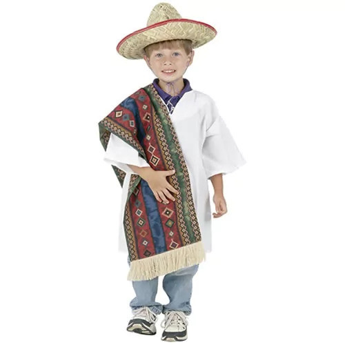 Multi-Ethnic Ceremonial Costume - Hispanic Boy