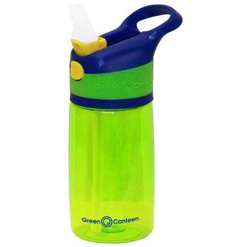 Green Canteen 12 oz. Blue and Green Plastic Tritan Hydration Bottle (6-Pack)