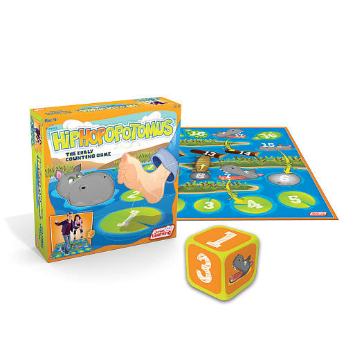 Junior Learning Hippopotamus! The Early Counting Game