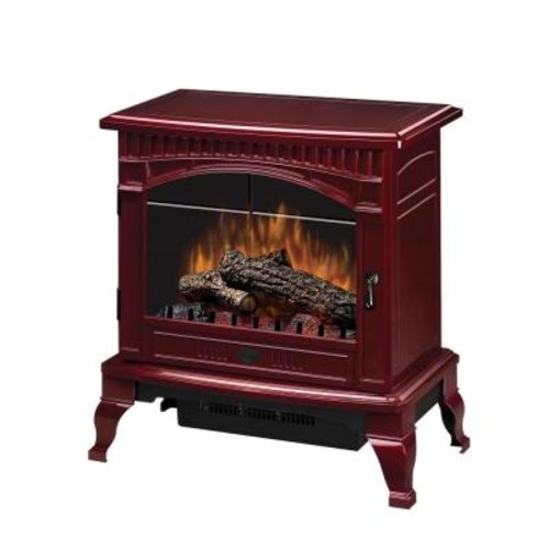 Dimplex Traditional 400 sq. ft. Electric Stove in Red