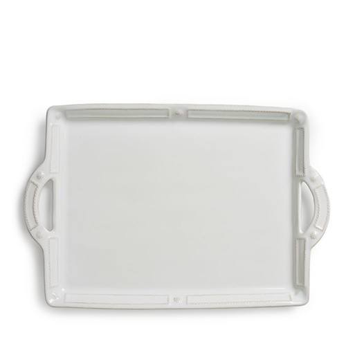 Berry & Thread French Panel Handled Tray, 19