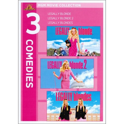 Legally Blonde Triple Feature [3 Discs] [DVD]