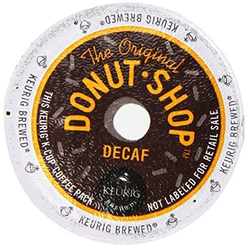 The Original Donut Shop Decaf Keurig Single-Serve K-Cup Pods, Medium Roast Coffee, 22 Count [22-Count]