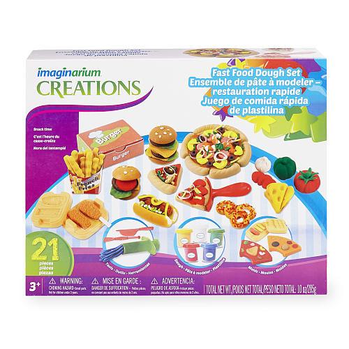 Imaginarium Fast Food Dough Set