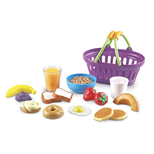 Learning Resources New Sprouts Breakfast Basket Set