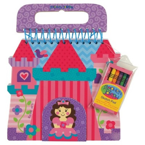 Stephen Joseph Shaped Sketch Pad - Princess