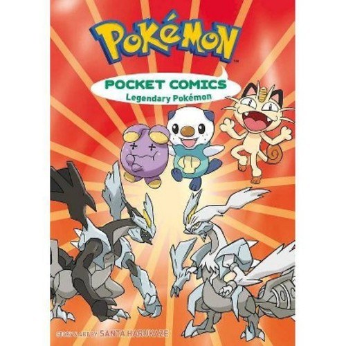 Pokemon Pocket Comics: Legendary Pokemon, Two Books in One!