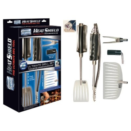Grill Daddy Heat Shield 6-Piece Ultimate Grill Tool Set