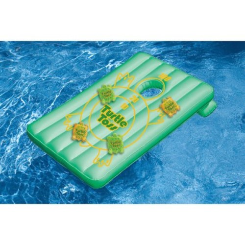 Swimline Inflatable Turtle Toss Game