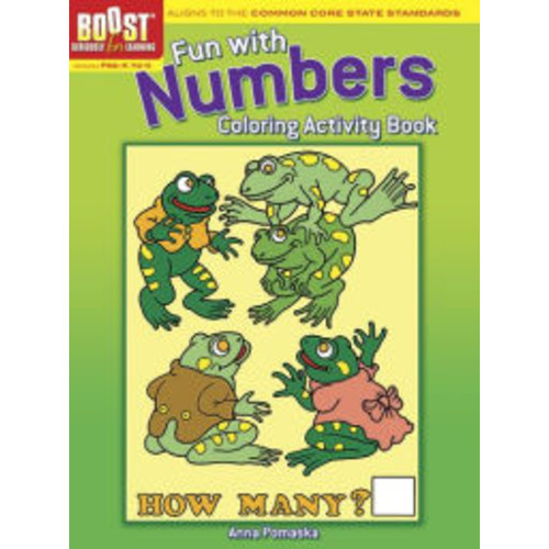 BOOST Fun with Numbers Coloring Activity Book