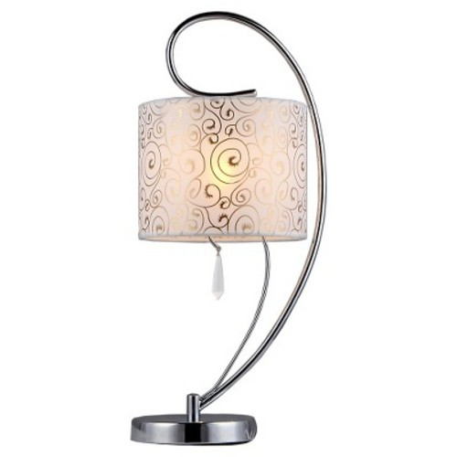 Warehouse Of Tiffany Table Lamp -Silver