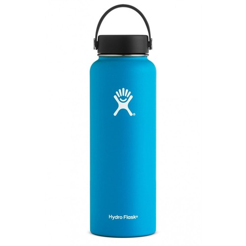 Hydro Flask - Stainless Steel Water Bottle Vacuum Insulated Wide Mouth with Flex Cap Pacific - 40 oz.