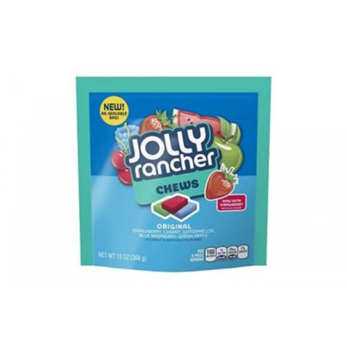 JOLLY RANCHER Chews Candy in Assorted Fruit Flavors, 13 oz., 4 Count (51921)