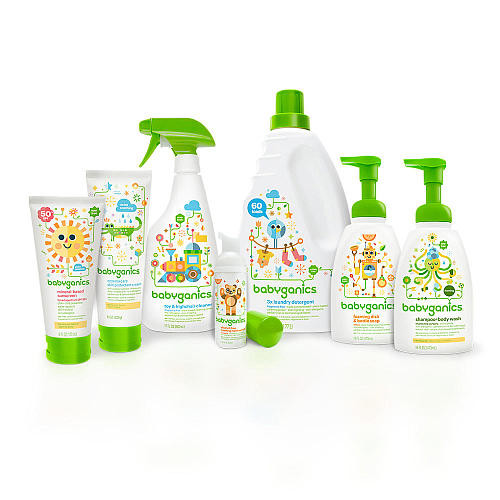 Babyganics Fragrance Free Laundry Detergent - 35 Ounce