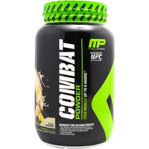Muscle Pharm Combat Protein Powder Vanilla 2 lbs