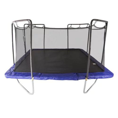 Skywalker Trampolines Blue 15' Square Trampoline with Enclosure