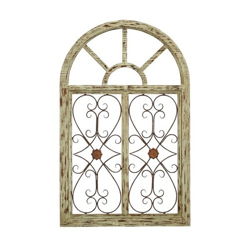 Studio 350 Accent Pieces Wood Garden Wall Plaque