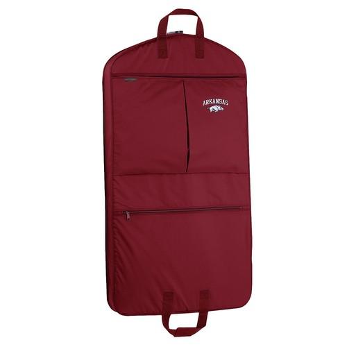 WallyBags Arkansas Razorbacks 40-in. Garment Bag with Pockets