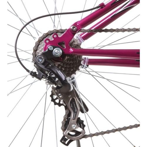 Fusion PRO Purple Alloy Dual Suspension All Terrain 21-Speed 19-Inch Frame Mountain Bike