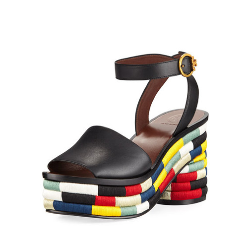 Camilla Embroidered 85mm Sandal