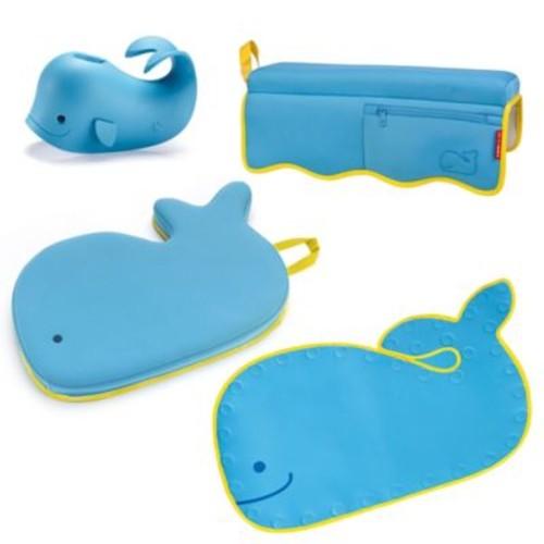 SKIP*HOP Moby 4-Piece Bathtime Essentials Kit in Blue