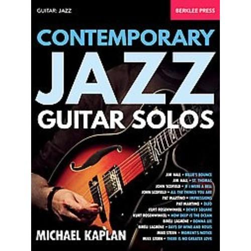 Contemporary Jazz Guitar Solos: Guitar: Jazz (Paperback)