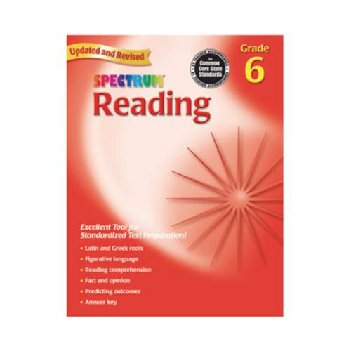 Spectrum Workbook Reading Grade 6
