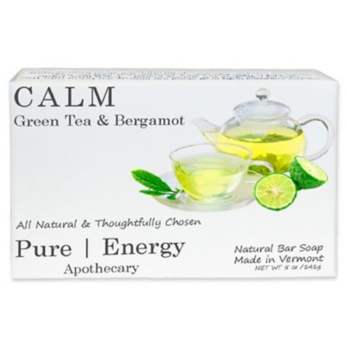 Pure Energy Apothecary 5 oz. Green Tea and Bergamot Soap Bar