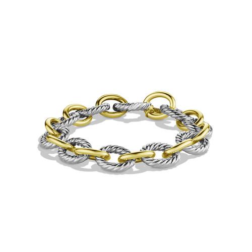 Oval Large Link Bracelet with G