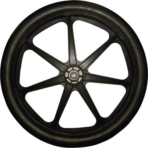 Marathon Tire Flat-Free Garden Cart Tire  24in. x 2in.,