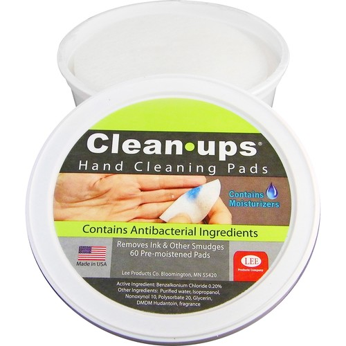 LEE Clean-Ups Hand Cleaning Pads, Cloth, 3