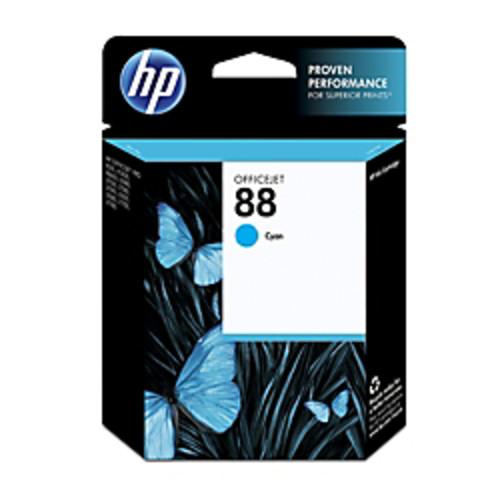 HP 88, Cyan Original Ink Cartridge (C9386AN)