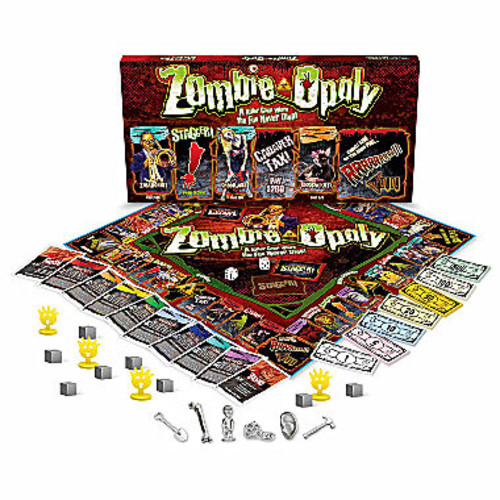 e For The Sky Zombie-opoly Game