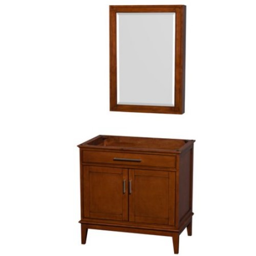 Hatton Collection 36 in Single Bathroom Vanity in Light Chestnut [WCV161636SCLCXSXXMED]
