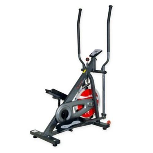 Flywheel Elliptical Trainer in Grey